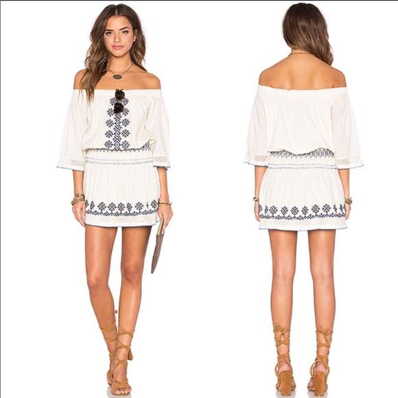 Tularosa Dresses & Skirts - Tularosa off the shoulder dress from Revolve. NWT